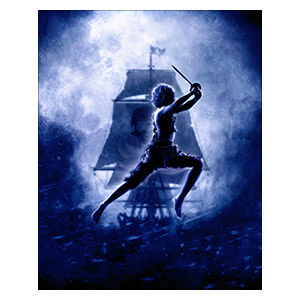 Peter Pan / Hook. Размер: 40 х 50 см